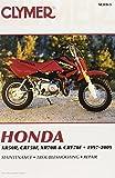 Mike Morlan Clymer Honda Xr50r, Crf50f, Xr70r & Crf70f 1997-2009 (M319-3) (Clymer Pro)