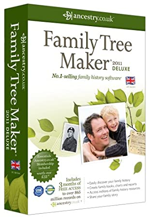 Family Tree Maker 2011 Deluxe (PC)