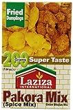 Laziza Pakora Mix, 200-Gram Boxes (Pack of 6)
