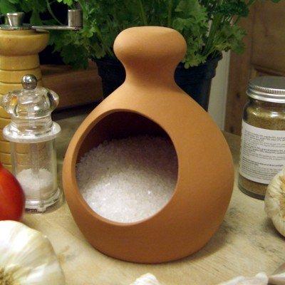 Terracotta Salt Piglet by Weston Mill Pottery