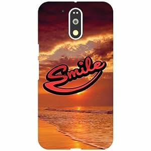 Motorola Moto G4 Plus Back Cover - Smile Designer Cases