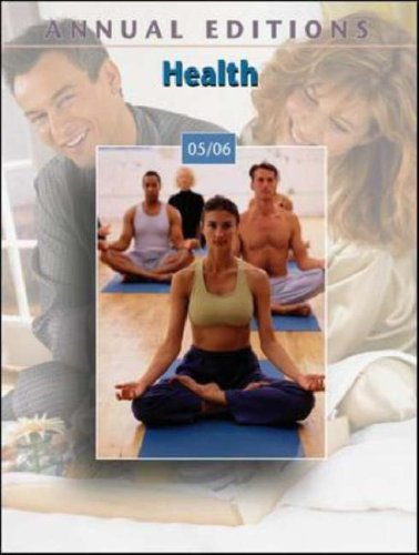 Annual Editions 2005-2006: Health