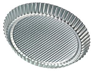 Zenker 11-Inch Flan Tart Pan, Tin Plated by Frieling