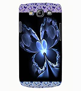 ColourCraft Beautiful Butterfly Design Back Case Cover for SAMSUNG GALAXY S3 NEO I9300I