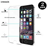 iPhone 6 Screen Protector, Cresawis 2-Pack 0.26mm 9H Tempered Glass Screen Protector for Apple iPhone 6s and iPhone 6 4.7 Inch (Lifetime Warranty)