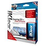 Klear Screen iKlear Cleaning Kit for Apple iPhone, iPad Devices, HDTVs, Plasma & LCD Screens