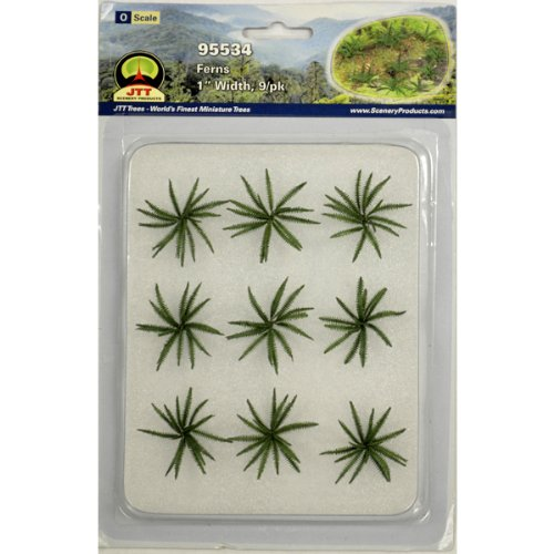 "JTT Scenery Products Gardening Plants Series: Ferns, 1"""