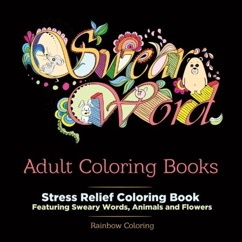 Swear word adult coloring book arts entertainment hobbies
