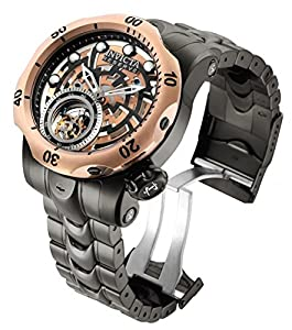 Invicta Men's 16300 Reserve Venom Tourbillon 52mm Stainless Steel Bracelet Watch