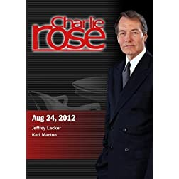 Charlie Rose - Jeffrey Lacker / Kati Marton (August 24, 2012)