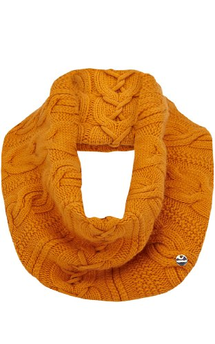 Twisted Cable Knit Infinity Scarf