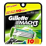 Gillette Mach3 Sensitive Cartridges 10 Count
