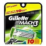 Gillette MACH3 Sensitive Power Razor...
