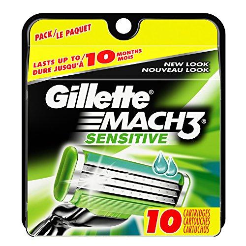 gillette-mach3-sensitive-power-razor-cartridges-10-count-10-count