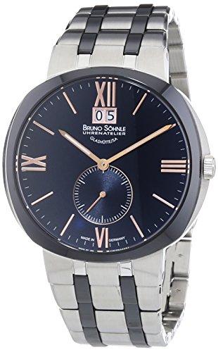 Bruno Söhnle Men's Watch XL Analogue Quartz Facetta 17-73151-736 different materials