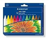 Staedtler 226 NC12 Noris Club Super Jumbo Wax Crayon Pack of 12