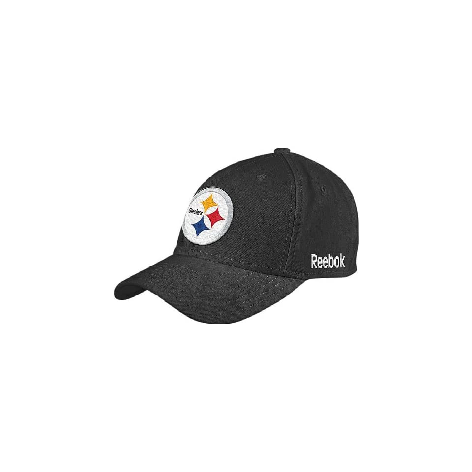 94de494c1f0 Reebok Pittsburgh Steelers NFL Sidelines Flex Fit Sized Cap on PopScreen