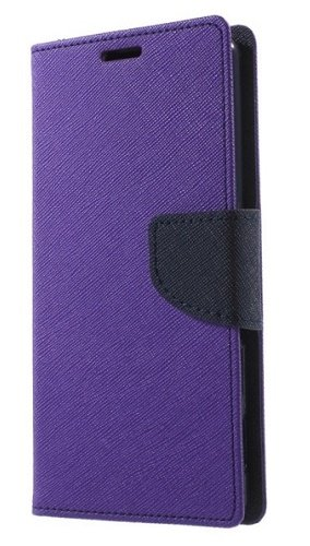 Delkart Flip Cover for Micromax Canvas 2 Colors A120 (purple & Blue)  available at amazon for Rs.184