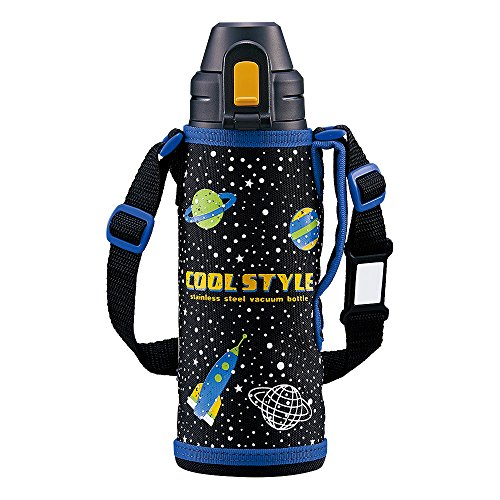 象印 水筒 直飲み スポーツタイプ ステンレスクールボトル 0.52L ブラック SD-AL05-BA