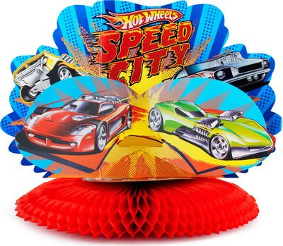 Hot Wheels Speed City Centerpiece