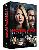 Homeland Temporadas 1-4 [DVD] España