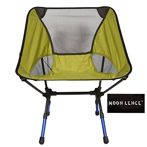 Moon Lence Outdoor Ultralight Portable Folding Chairs Beach Chairs For Camping/Hiking/Fishing/BBQ