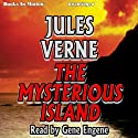 The Mysterious Island (       UNABRIDGED) by Jules Verne Narrated by Gene Engene