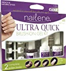 Nailene Ultra Quick Brush-on Gel Clear 71289 Kit, 1 Kt