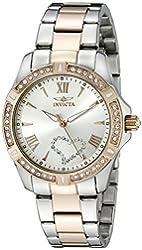 Invicta Women's 21385 Angel Analog Display Quartz Two Tone Watch