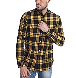 Jack & Jones Men's Casual Checks Casual shirts