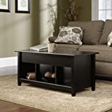 Sauder Edge Water Lift-Top Coffee Table, Estate Black Finish thumbnail