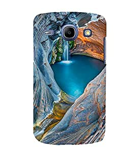 printtech Nature Waterfall View Back Case Cover for Samsung Galaxy J7 / Samsung Galaxy J7 J700F (2015 EDITION)