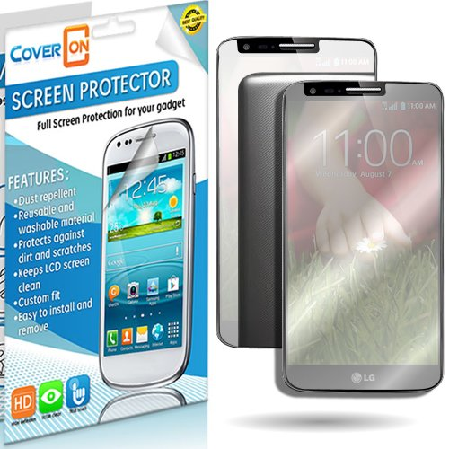 Coveron® Mirror Lcd Screen Protector Shield For Lg G2 D802