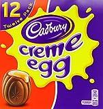 Cadbury Creme Egg (Pack of 12, 1 Box)