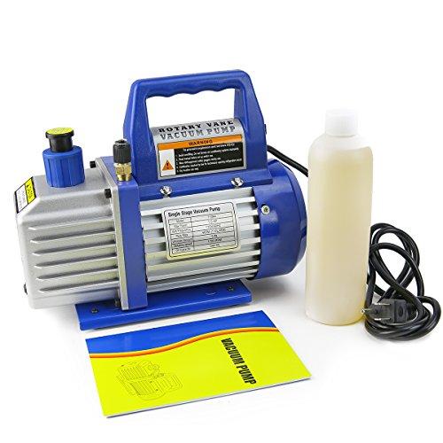 How do you hook up a vacuum pump