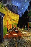 Seven Rays Vincent Van Gogh - The Café Terrace on the Place du Forum:: Arles:: at Night:: c.1888 (Small) Poster