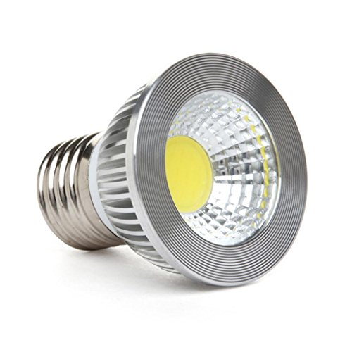 Golden Sun Dimmable 5-Watt Par16/Mr16 Led Cob Flood Bulb For Recessed, Track And Pendant Lighing Fixtures, 90 Degree, 50-Watt Equivalent, 400 Lumen, Ac 120V, E26 Medium Base, 2700K Warm White