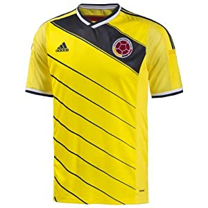 Adidas Colombia 2014 Home Soccer Jersey World Cup 2014 (L)