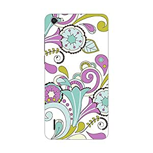 Garmor Designer Plastic Back Cover For Micromax Bolt D321