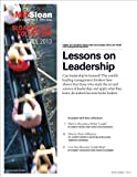 img - for Lessons on Leadership -- Article Collection book / textbook / text book