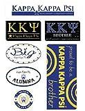 Kappa Kappa Psi Sheet - Family Theme. 8.5