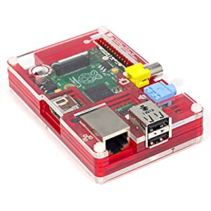 Pibow Coupe Case for Raspberry Pi Model B from Pimoroni