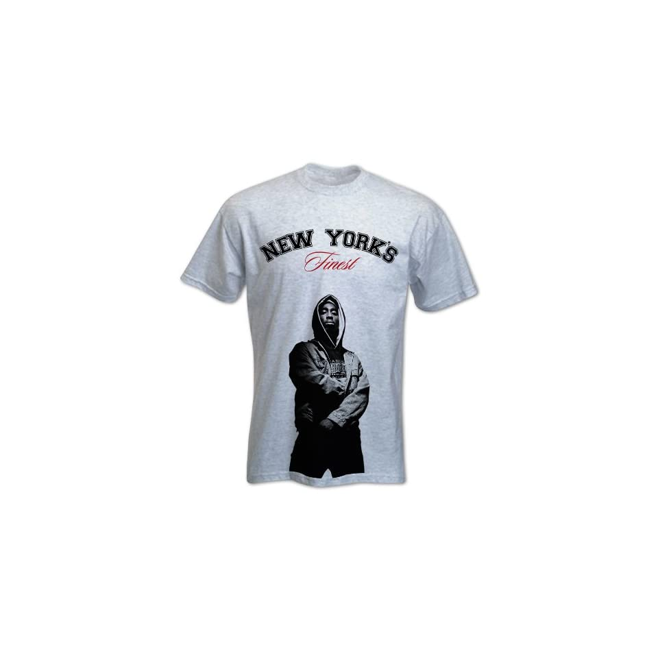 Bang Tidy Clothing Men's 2 Pac The West Coasts Finest T Shirt Novelty T Shirts Clothing