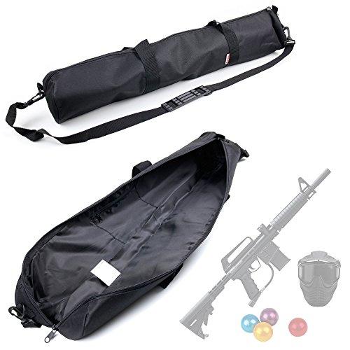Housse de protection et de transport pour votre équipement de Paintball - longueur maximum acceptée : 80 cm - parois renforcées en mousse - DURAGADGET
