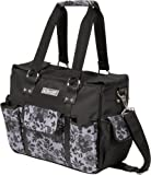 The Bumble Collection Kelly Commuter Diaper Bag, Lace Floral