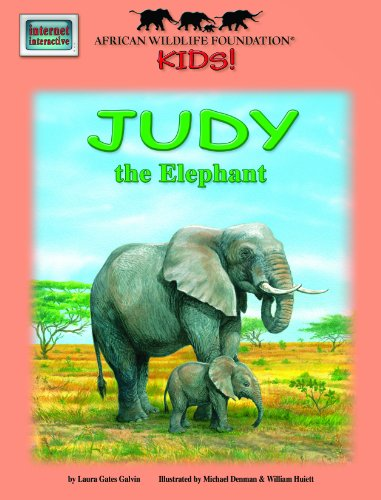 Judy the Elephant - An African Wildlife Foundation Story book cover