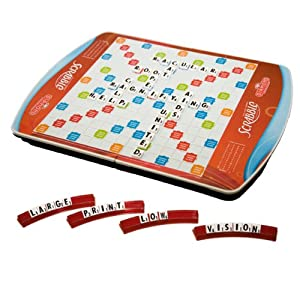Deluxe Low Vision 60th Anniversary Scrabble