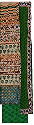 Krati Collection Women's Cotton Unstitched Dress Material (Multi-Coloured)