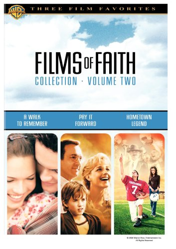 films of faith collection vol 2 a walk to remember pay it forward hometown legend dvd 2000