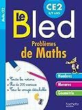 Cahier Bled Problèmes De Maths CE2...